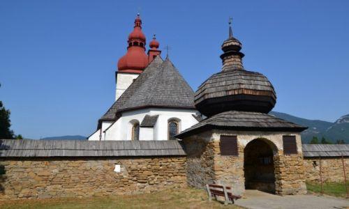 SłOWACJA / - / Liptowskie Matiaszowce / Stary kościół