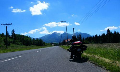 Zdjęcie SłOWACJA / Presovsky Kraj  / Tatry Wysokie / Tatry Wysokie Motocyklem