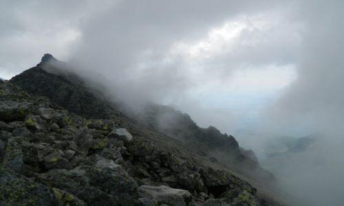 Zdjecie SłOWACJA / tatry wysokie / mała wysoka / widok na Bradavice 2476 m npm