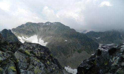 Zdjęcie SłOWACJA / tatry wysokie / mała wysoka / widok na Świstowy Szczyt 2383 m