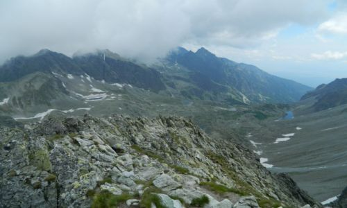 Zdjęcie SłOWACJA / tatry wysokie / mała wysoka / widok na Staroleśną Dolinę