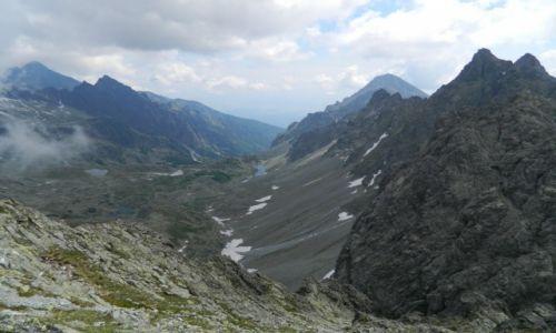 Zdjęcie SłOWACJA / tatry wysokie / mała wysoka / widok na Bradavice i Staroleśną Dolinę