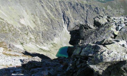 SłOWACJA / Tatry Wysokie / Przełęcz Daxtera pod Krywaniem / Zelene Kryvanske Pleso II