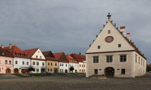 Zdjęcie SłOWACJA / Szarysz / Bardejov / Dawny Ratusz miejski, obecnie muzeum