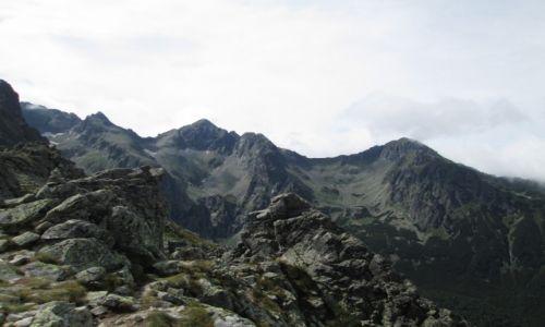 Zdjecie SłOWACJA / tatry wysokie / rakuska czuba / widok na jagnięcy szczyt