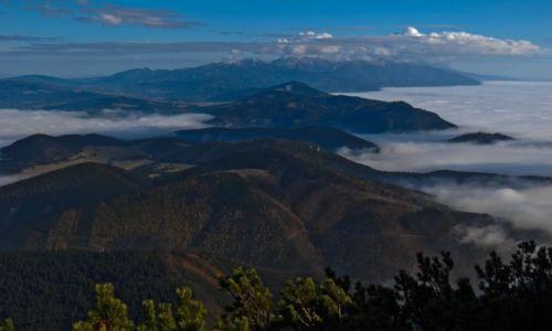 Zdjecie SłOWACJA / Orawa- Karpaty Zachodnie / Wielki Chocz- widok na Tatry Zachodnie / W góry! W góry, miły bracie!