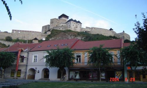 Zdjecie SłOWACJA / brak /  BECKOV / ZAMEK W BECKOVIE - III