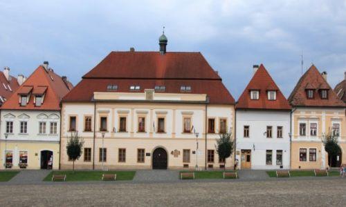 Zdjęcie SłOWACJA / Szarysz / Bardejov / Siedziba władz miejskich