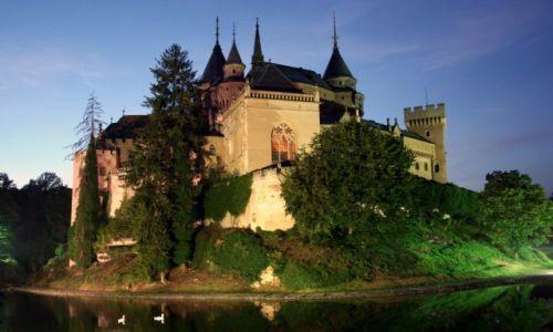 Zdjecie SłOWACJA / Bojnice / Bojnicki Zamek / Nocny portret zamku