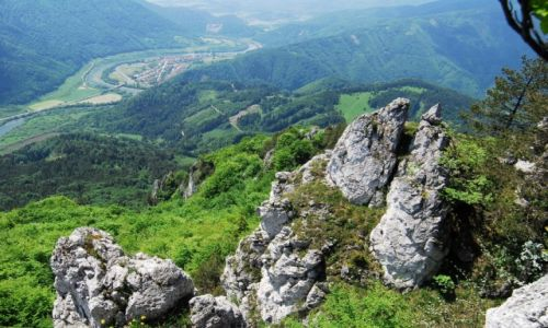 Zdjecie S�OWACJA / Karpaty Zachodnie / Ma�a Fatra / P�ynie wije si�
