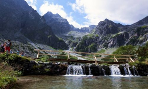 Zdjęcie SłOWACJA / Tatry / Zielony Staw Kieżmarski / Skalna korona