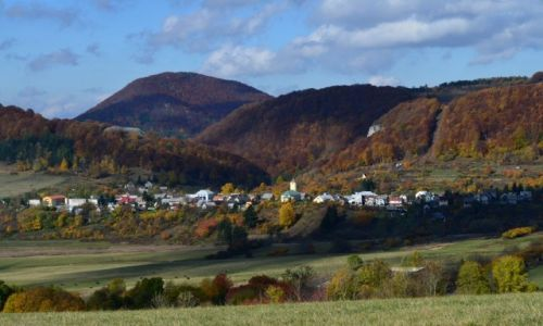 Zdjęcie SłOWACJA / Żyliński Kraj / Strażowskie Góry / wioska