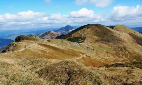 Zdjęcie SłOWACJA / Mała Fatra / Chleb / chmury i góry