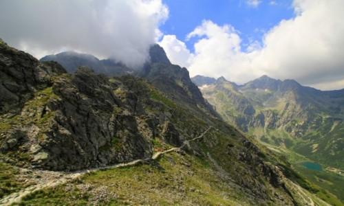 S�OWACJA / Wysokie Tatry / Dolina Bielej vody / Szlak na Rakusk� Czub�