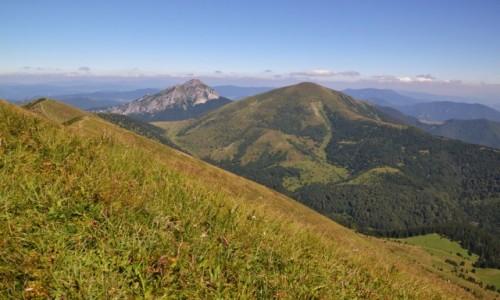 Zdjęcie SłOWACJA / Mała Fatra / Poludniowe Steny / Widok w stronę Wielkiego Rozsutca