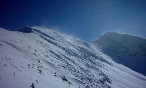 Zdjecie SłOWACJA / Tatry / Wolovec / Zima w górach
