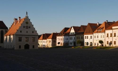 Zdjęcie SłOWACJA / Szarysz / Bardejów / Rynek w Bardejowie