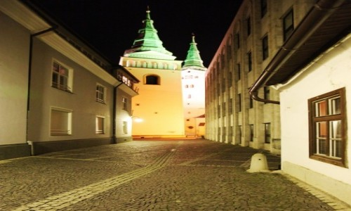 Zdjecie SłOWACJA / Horne Povażie / Żilina / Uliczka