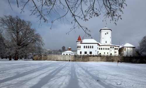 Zdjecie SłOWACJA / Żilina / Zamek Budatín  / W pełnej krasie
