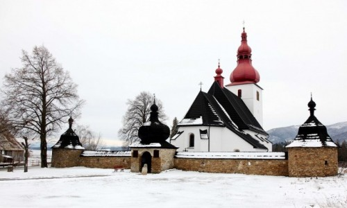 Zdjęcie SłOWACJA / Liptov / Liptovske Matiasovce / Kościół św. Ladislava