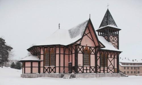 Zdjecie SłOWACJA / Wysokie Tatry / Stary Smokowiec / Drewniany kościół Niepokalanego Poczęcia NMP