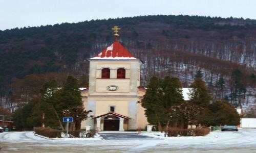 Zdjęcie SłOWACJA / Orawa / Orawski Podzamok / Kościół i klasztor Matki Bożej