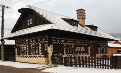 Zdjęcie SłOWACJA / Żilina / Ćićmany / Malowane domki