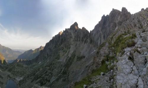 Zdjecie SłOWACJA / Mała Wysoka 2429 m. / Polski Grzebień 2200 m. / Mała Wysoka z P