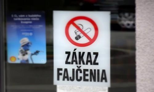 SłOWACJA / kierunek Bałkany / gdzieś tam / zakaz wszystkiego