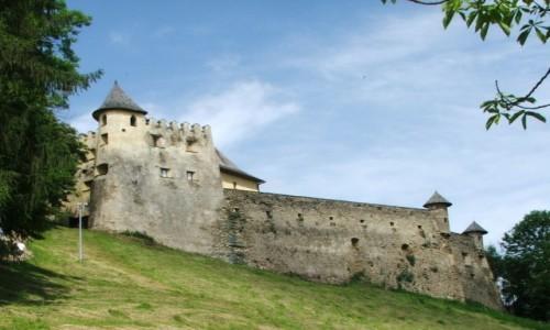 Zdjęcie SłOWACJA / Historyczny region Spisza  / Lubowla / Lubowelski zamek