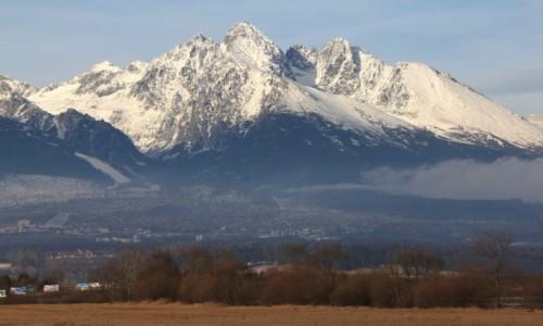 Zdjęcie SłOWACJA / Poprad / Wysokie Tatry / Panorama od strony Słowacji