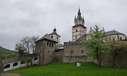 Zdjęcie SłOWACJA / Kraj bańskobystrzycki / Kremnica / Zamek miejski
