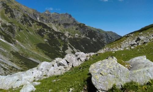 Zdjecie SłOWACJA /  od jaworowej doliny / gdzieś po drodze  / w Tatrach...