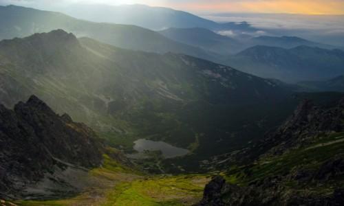 Zdjecie SłOWACJA / Tatry / Jagnięcy Szczyt 2230m / Wieczór na Jagnięcym