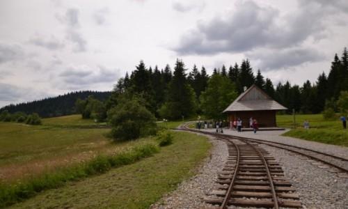 Zdjęcie SłOWACJA / Kysuce / Przełęcz Beskyd / Stacyjka