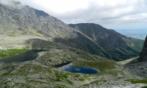 Zdjęcie SłOWACJA / Lodowa Przełęcz. / Dolina Pięciu Stawów Spiskich. / Dolina Pięciu Stawów Spiskich od Lodowej Przeł.
