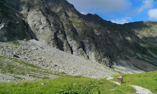 Zdjęcie SłOWACJA / Szlak na Lodową Przełęcz. / Szlak na Lodową Przełęcz Doliną Jaworową. / Pod Jaworowymi szczytami.