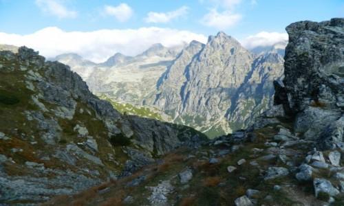 Zdjecie SłOWACJA / Wysokie Tatry. / Sławkwski Grzebień (okolica) / Ze szlaku na Sławkowski Szczyt 2452 m.