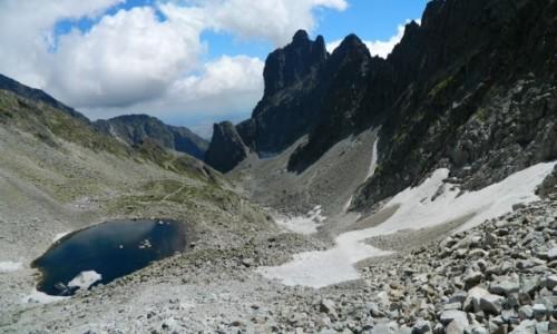 SłOWACJA / Lodowa Przełęcz.2372 m. / Lodowa Przełęcz 2372 m. / Lodowy Stawek 2157 m. (inne źródła 2192 m.)