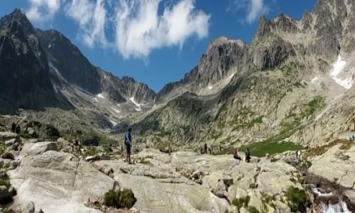 SłOWACJA / Chata Teryego 2015 m. / Dolina Pięciu Stawów Spiskich. / Panorama z Doliny Pięciu Stawów Spiskich.