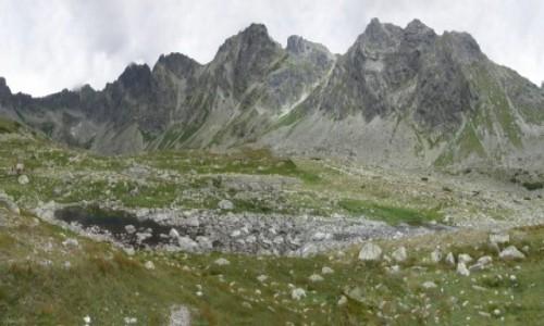 Zdjecie SłOWACJA / Koprowy Wierch. / Wielki Hińczowy Staw. / Panorama z nad Hińczowego Oka.