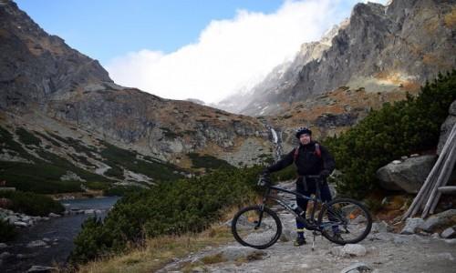 SłOWACJA / Tatry / Dolina Wielicka / Na rowerze pod Gerlachem