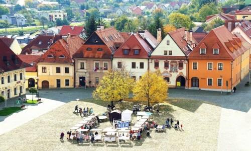 Zdjęcie SłOWACJA / Szarysz / Bardejów / Kamieniczki