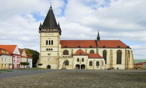 Zdjęcie SłOWACJA / Szarysz / Bardejów / Bazylika św. Idziego