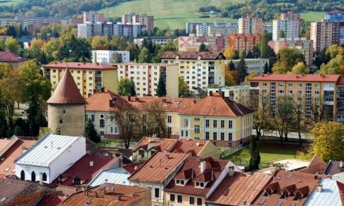 Zdjęcie SłOWACJA / Szarysz / Bardejów / Zabudowa