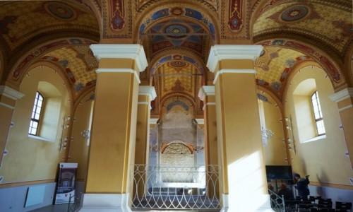 Zdjęcie SłOWACJA / Szarysz / Bardejów / Stara Synagoga, wnętrze