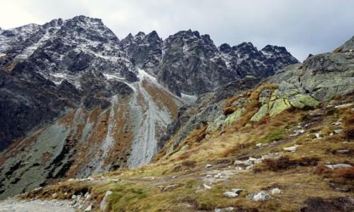 SłOWACJA / Tatry Wysokie / W drodze nad Wielki Hińczowy Staw / Potęga gór