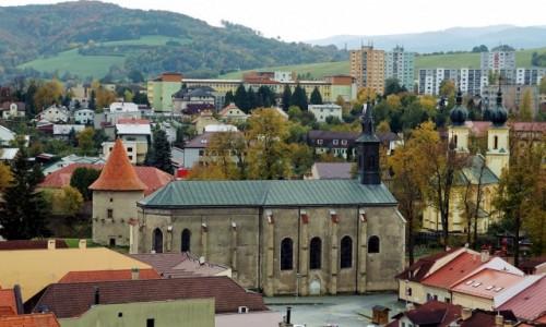Zdjecie SłOWACJA / Szarysz / Bardejów / Kościoły i baszta