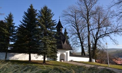 Zdjęcie SłOWACJA / Orawa / Twardoszyn / Kościół Wszystkich Świętych z XV w.