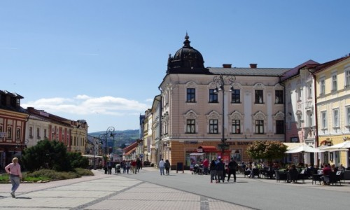 Zdjecie SłOWACJA / Kraj bańskobystrzycki / Bańska Bystrzyca / Rynek